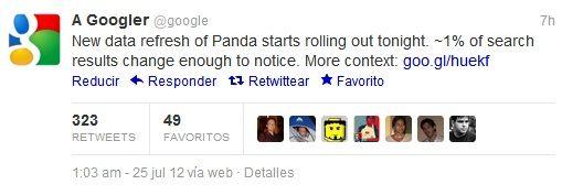 tweet-google-panda