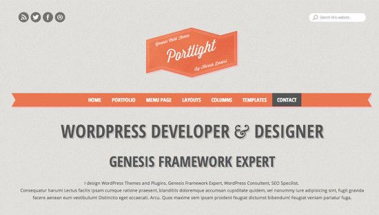 Portlight-wordpress-theme