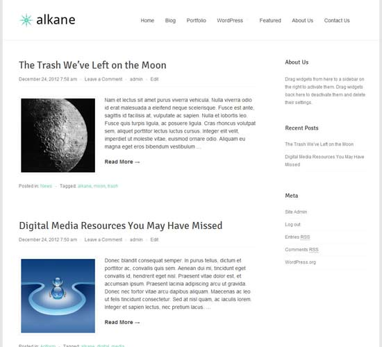 alkane-wordpress-theme