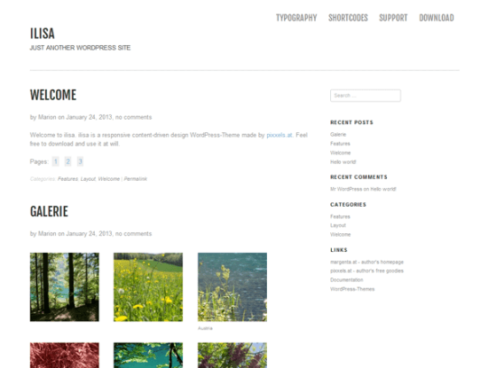 ilisa-wordpress-theme