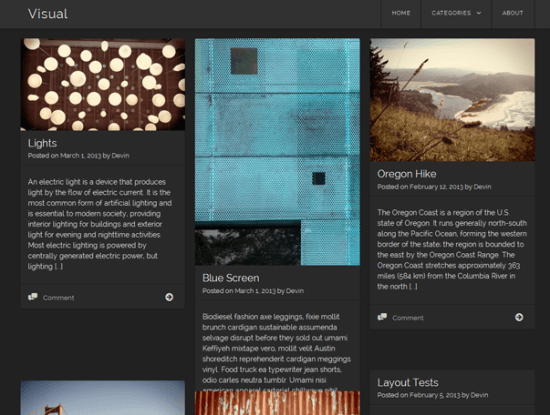 visual-theme-wordpress