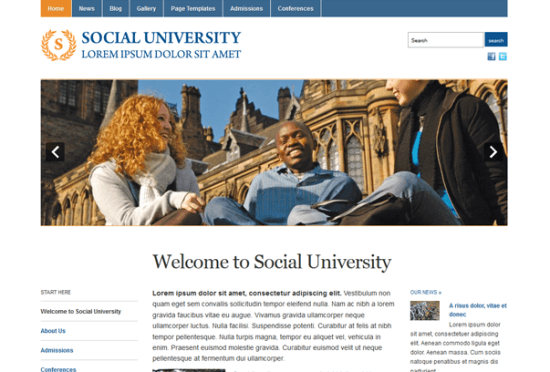 academica-wordpress-theme-gratis