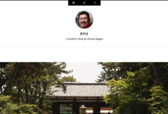 ryu-theme-gratis