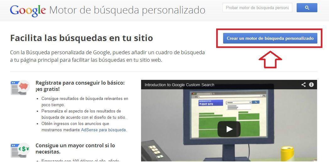 Cómo buscar con Google dentro de tu propio blog