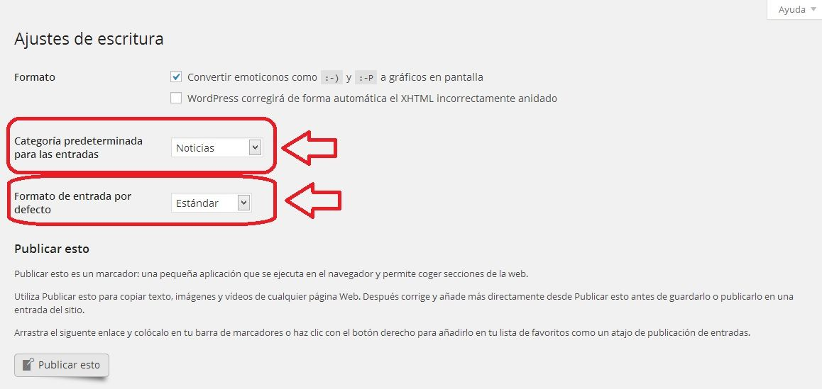 Cómo cambiar la categoría por defecto de tu WordPress