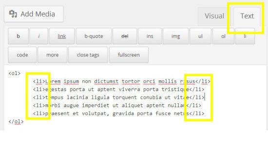 lista-ordenada-wordpress-codigo