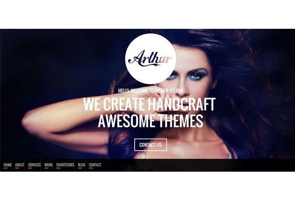 10 themes de una sola página para WordPress