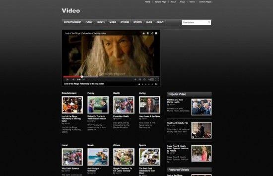 video-wordpress-theme
