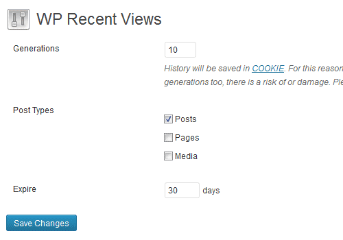 wp-recent-views-wordpress-plugin
