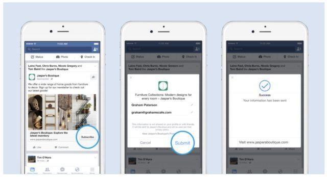 Facebook Lead Ads: Guía de lo mejor que ha hecho Facebook en años