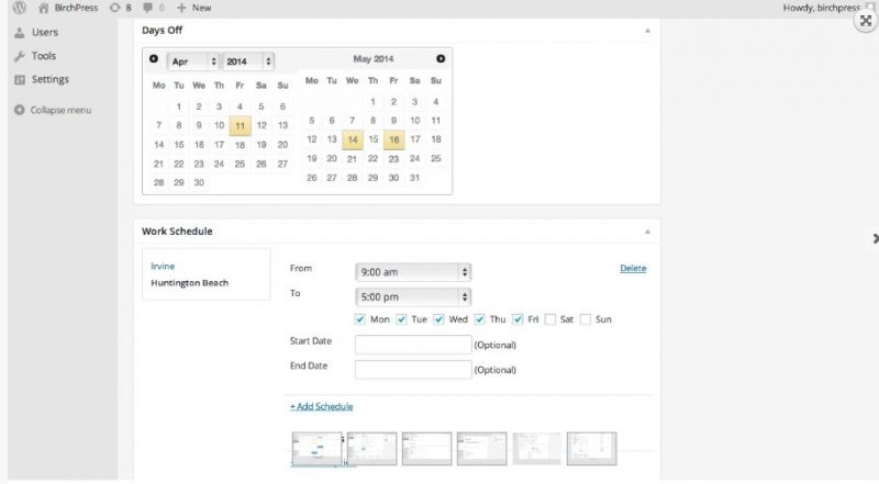 birchpress-scheduler-plugin-wordpress