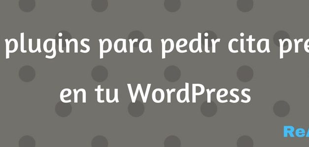 +15 Plugins de WordPress para pedir citas previa