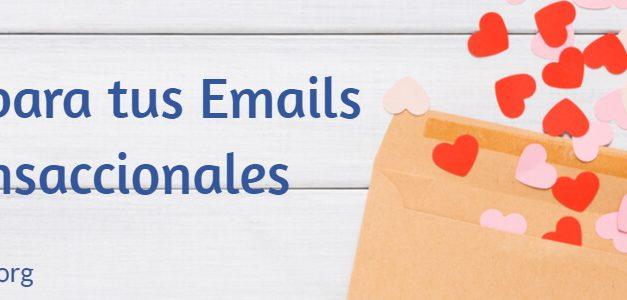 Ideas de marketing para sacar partido a tus emails transaccionales