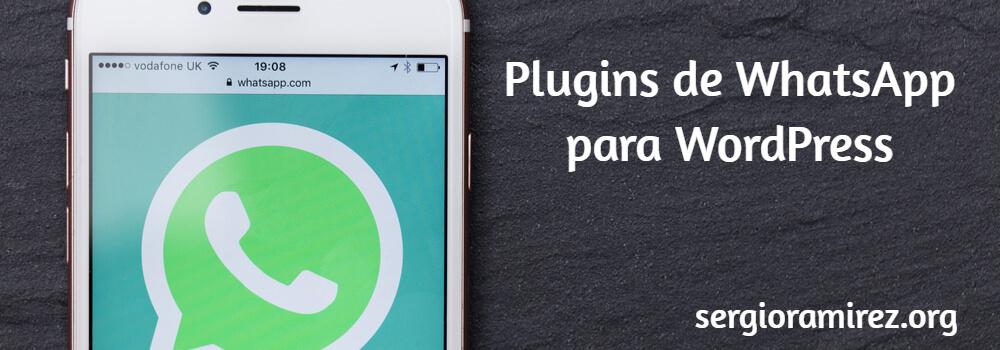 7 Plugins de WhatsApp para WordPress que no te puedes perder