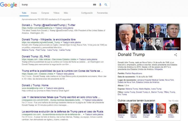 serp-trump-knowledge-graph
