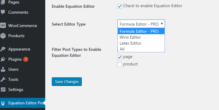 equation-editor-pro-configuracion