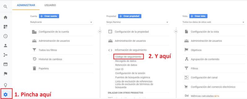 Cómo instalar Google Analytics en tu WordPress, con plugin o sin ellos 5