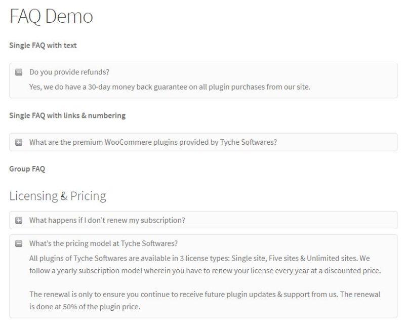7 plugins gratis para poner FAQs en tu WordPress con estilo 2