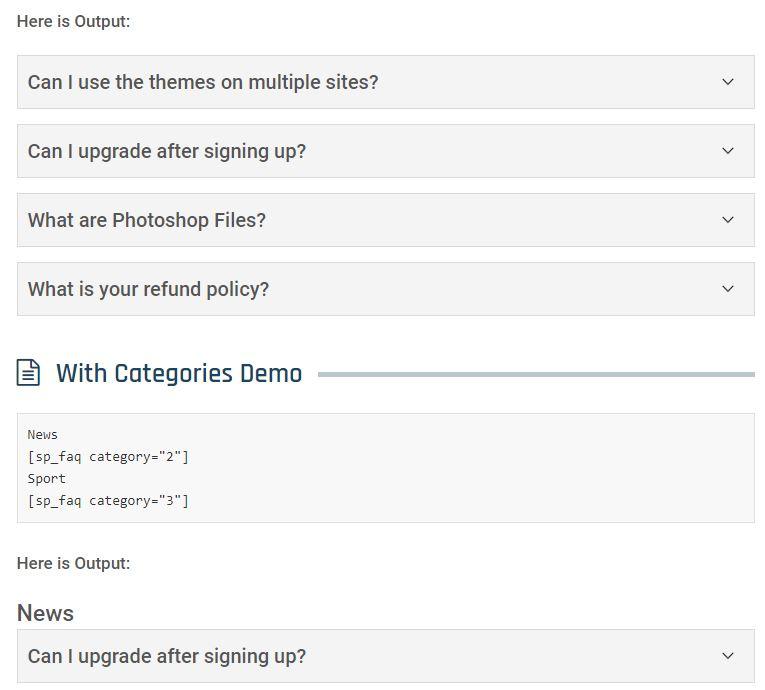 7 plugins gratis para poner FAQs en tu WordPress con estilo 3