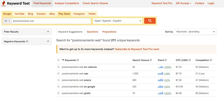 keywordtool-io-pantallazo-herramienta-palabras-clave
