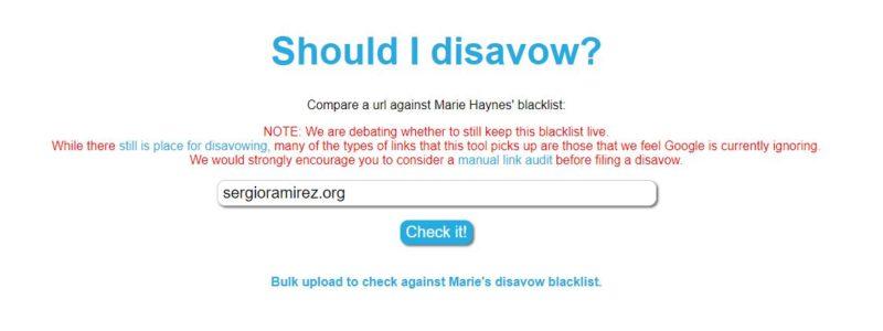 marie-haynes-disavow-blacklist-herramienta