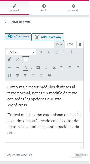 editor-de-texto-elementor
