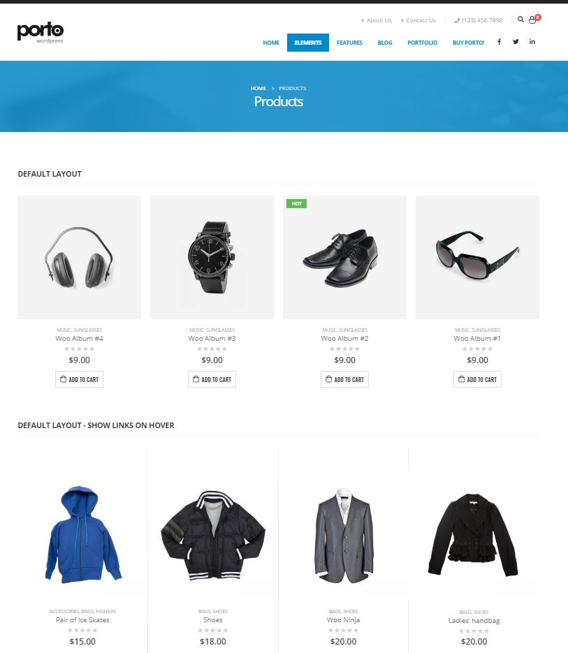 porto-theme-wordpress-ecommerce